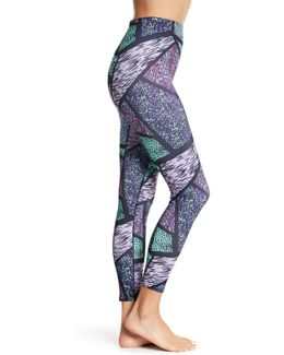 Geo Animal Print Shaping Leggings