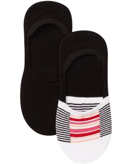 High Cut Sock Liners - Pack Of 2