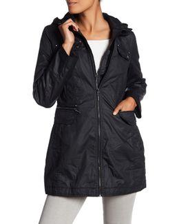 Hooded Rain Coat