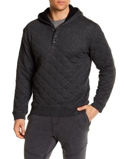 Brewer Quilted Hoodie