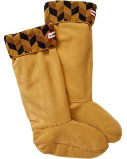 Original Tall Geometric Dazzle Boot Socks