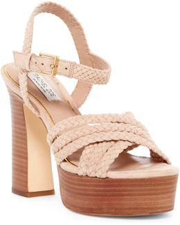 Hallah Platform Sandal