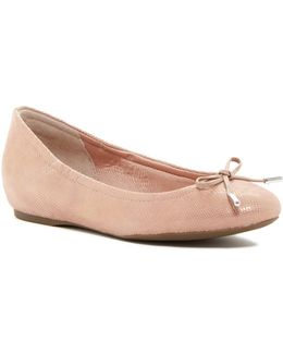 Bow Tied Ballet Flat - Wide Width Available