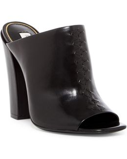 Salana Leather Mule