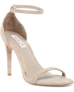 Ema Suede Ankle Strap Sandal