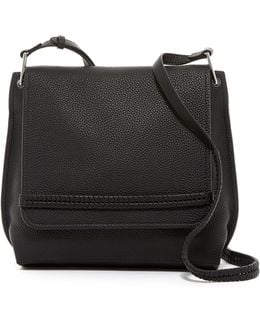 Astra Leather Flap Crossbody