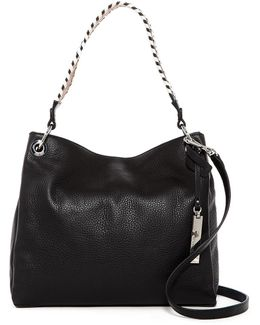 Axton Leather Small Hobo
