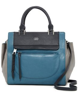 Ayla Leather Satchel