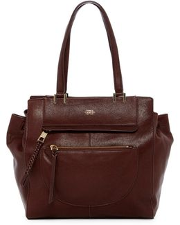 Ayla Leather Tote