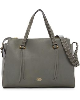 Esta Leather Satchel
