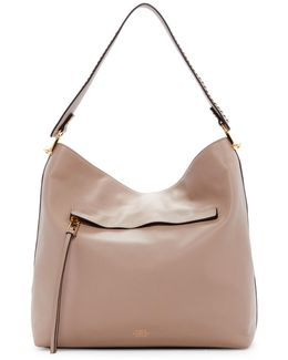 Giny Leather Hobo