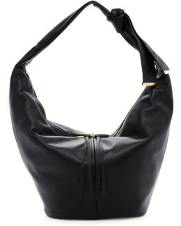 Imena Leather Hobo