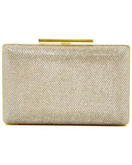 Luv Genuine Calf Hair Minaudiere Crossbody