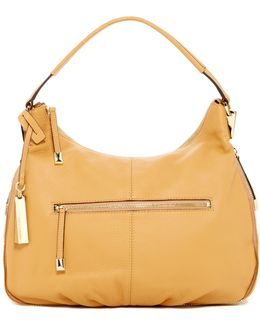 Rina Leather Hobo Bag