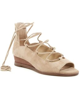 Rochela Lace-up Wedge