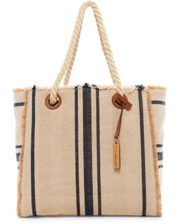 Ulla Striped Tote