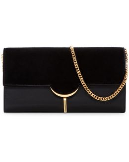 Zana Leather Clutch