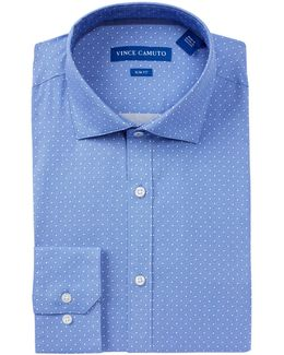 Oxford Trim Fit Dress Shirt