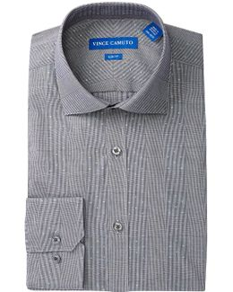 Onyx Glen Plaid Slim Fit Dress Shirt