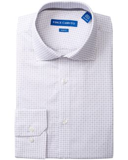 Onyx Dobby Check Slim Fit Dress Shirt