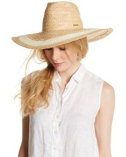 Woven Floppy Cowboy Hat