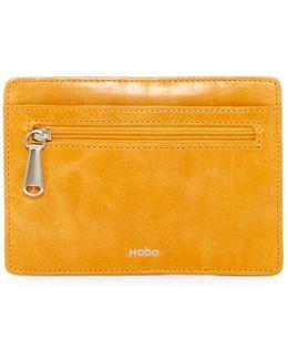 Euro Slide Leather Card Holder