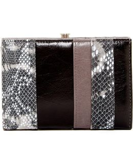 Luci Snake-embossed Bifold Wallet