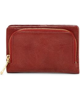 Loral Leather Wallet