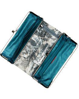 Lauren Leather Clutch Wallet