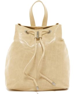 Kendall Leather Backpack
