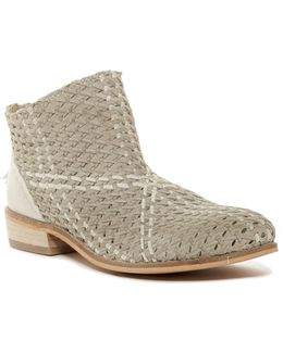 Vico Woven Leather Bootie