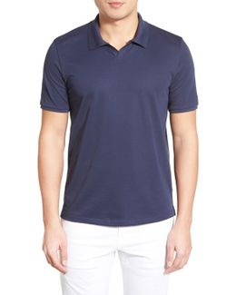 Johnny Trim Fit Jersey Polo