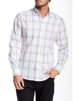Plaid Long Sleeve Slim Fit Shirt