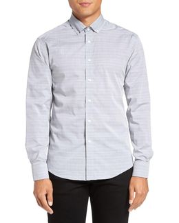 Trim Fit Button Down Sport Shirt