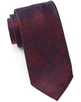 Lynwood Paisley Silk Tie