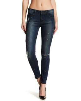 Ladonna Mid Rise Cropped Slim Jean