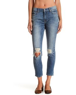 Parker Distressed Relaxed Fit Skinny Jean