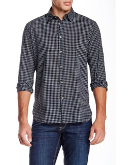 Classic Point Long Sleeve Slim Fit Shirt