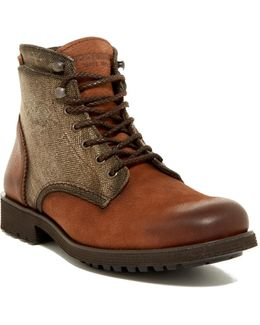 Clarence Plain Toe Boot