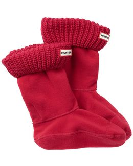 Half Cardigan Short Boot Sock