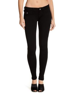 Crystal Button Jegging