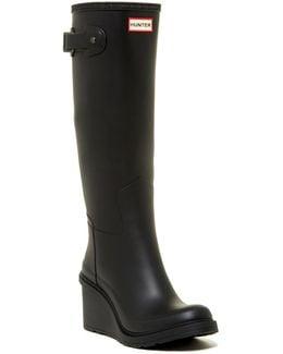 Original Refined Wedge Rain Boot