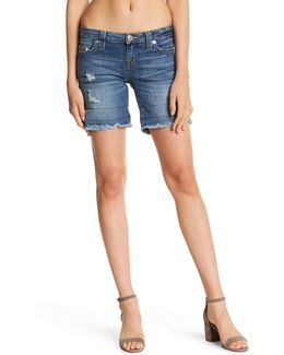 Medium Wash Cutoff Short