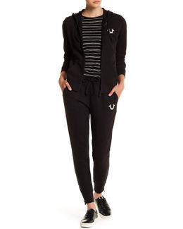 Zip Cuff Jogging Pants