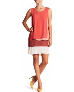 Sleeveless Layered Dress