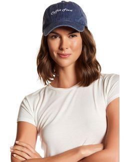 Coffee First Baseball Cap