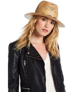 Western Band Panama Hat
