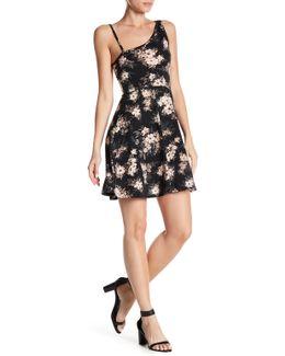 Fit & Flare Floral Print Dress