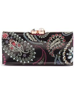 Dalthee Trinket Leather Matinee Wallet