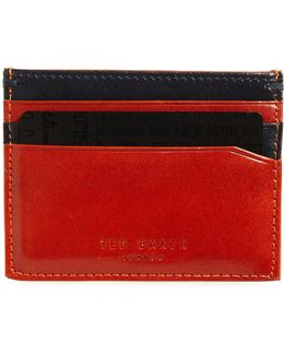 Pincone Leather Card Case